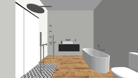 Home Master Bath 2 - Bathroom  - by jcbiggs