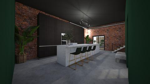 Make over Industrial - Kitchen  - by nickh2020