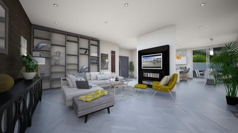 Open Plan - Modern - Living room - by Kerry F