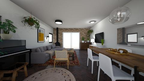 Limor Weissbard 6 - Living room  - by erlichroni