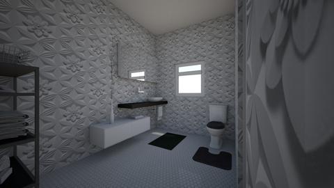 Morgans Half Bath - Modern - Bathroom  - by 22clasmor