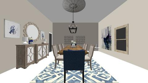 Formal Dining_Micaela - Modern - Dining room  - by tlang10157