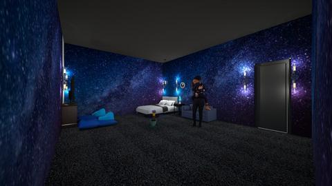 space - Kids room  - by mashhoud