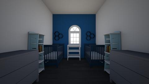 Twin Baby boys Room - Kids room  - by Kaylee4321