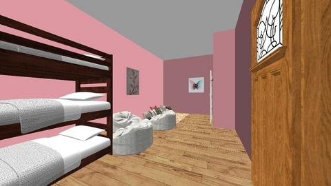 fabulous pink room - Glamour - Bedroom - by aschaper