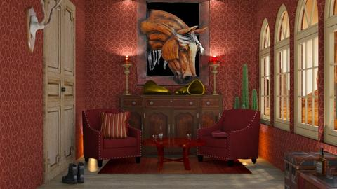 saloon decoration - by nat mi