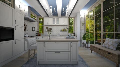 Shabby Chique Kitchen - Kitchen  - by PRINZESSINBLUME