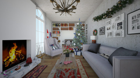 christmas night - Classic - Living room  - by diana villa