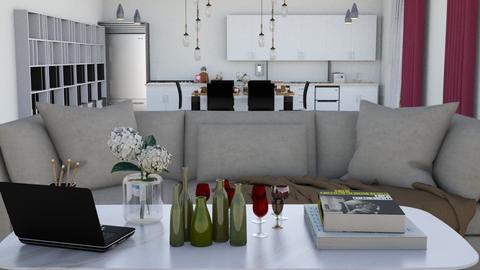Living room Modern - Living room  - by malithu damsath