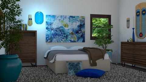 jungle bedroom - by Joanne Galle_680