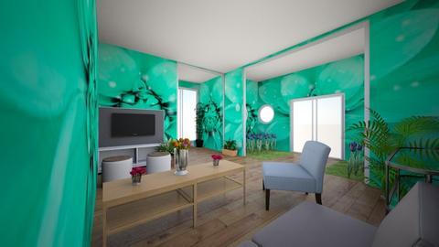 Indoor Garden_Living Room - Living room - by Anna Weyer