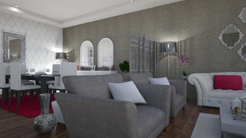 mali xom - Glamour - Living room  - by hevaxan