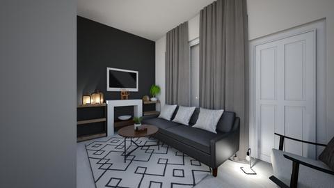 JAPANDI LOUNGE VIEW3 - Minimal - Living room - by moon_safi