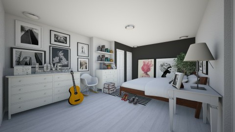 Bedroom redesign - Modern - Bedroom  - by deleted_1606514610_Ioann L