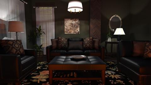 M_ Barnaby - Classic - Living room - by milyca8