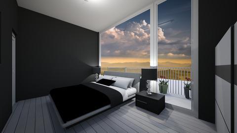 Mansion bedroom  - by saratevdoska