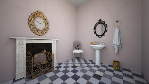 Neutral Bathroom - Glamour - Bathroom  - by Summerwhite20