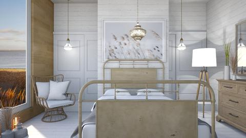 Beach bedroom - by Designer1007