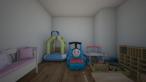 Baby brothers room - Modern - Kids room  - by Jerry771