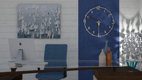 sea blue - Office  - by snjeskasmjeska
