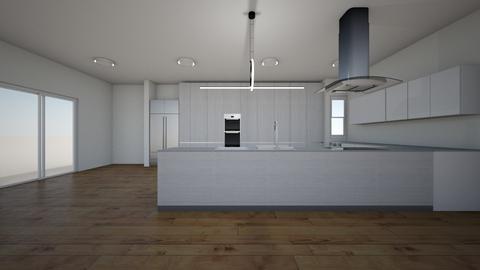 mansionn - Kitchen  - by Architectdreams