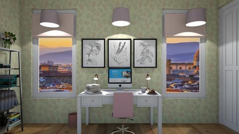 Pink Office - Office  - by srmagi