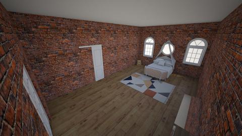 attic room - Bedroom  - by CLLOYD1032