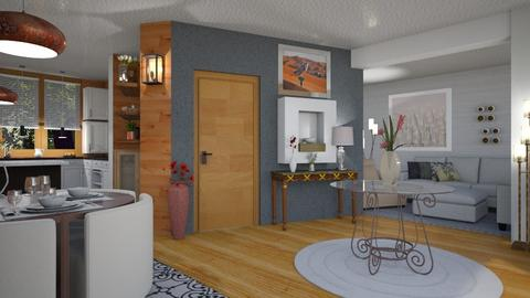 Living room and kitchen - Modern - Living room  - by Sue Bonstra