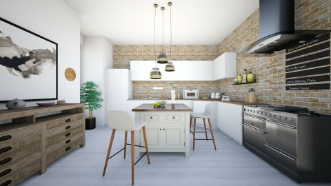 Kitchen  - Classic - Kitchen  - by karla997