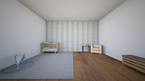 baby room - Rustic - Kids room  - by kylie wolfe