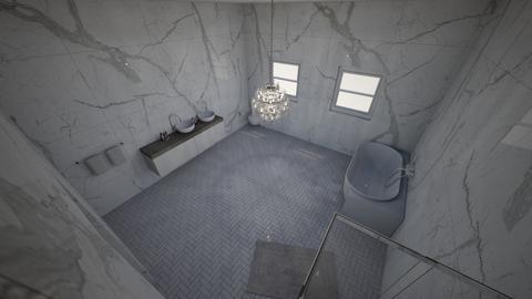 2BATHROOM  - Modern - Bathroom  - by tyran26