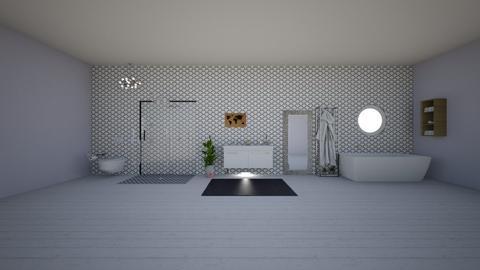 Ava Chuderewicz - Bathroom  - by lauryndiazz