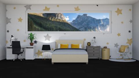 Black_Gold_Grey - Bedroom  - by LaylaaaarrrJF