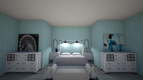 Lil blu - Modern - Bedroom  - by Twizzlerz