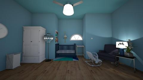 BABY BOY NURSERY - Kids room  - by IlI805