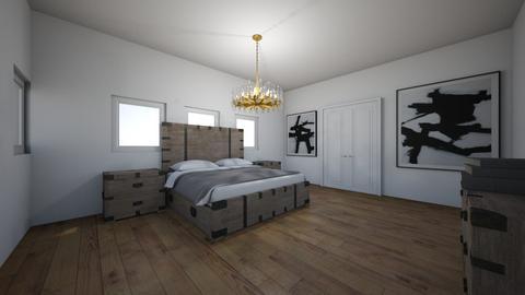 Boxed Bedroom - Bedroom - by Georgiaandres