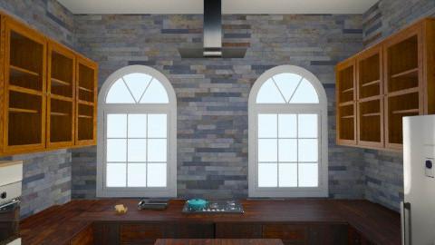 wood modern - Glamour - Kitchen  - by mrrhoads23