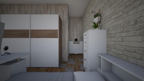 Teen room - Minimal - Bedroom  - by pr1cessplayz