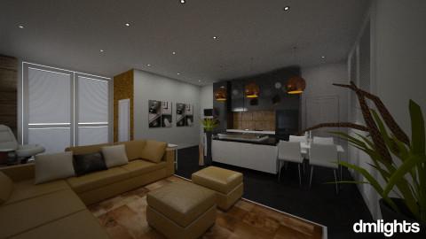 1 rm apts - Bedroom  - by DMLights-user-994237