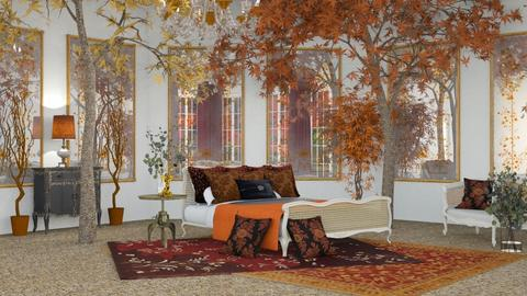 Autumn Inspired Bedroom 2 - Bedroom  - by jjp513