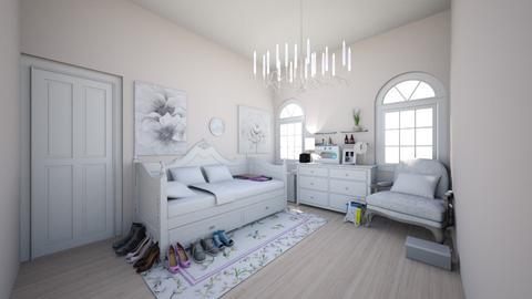 Glammer Girl Bedroom - Feminine - Bedroom - by Chicken202