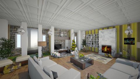 bebe yyop - Living room - by Rosaura Garcia