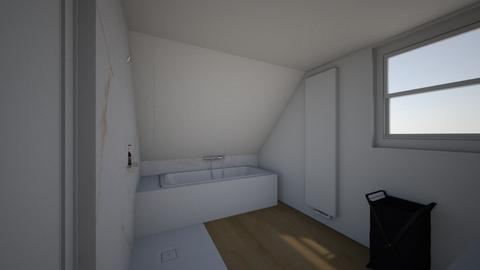 Salle de bain dressing 2 - Bathroom  - by Nathalie Crispiels