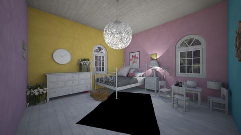 Lily Room - Feminine - Kids room  - by Han Jisung