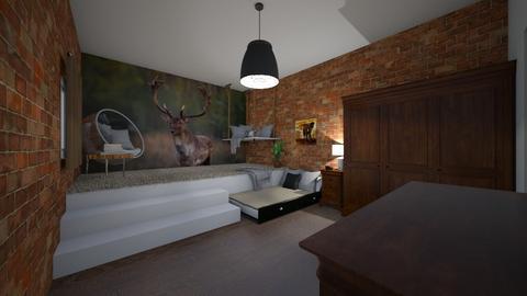 teenage bedroom - Country - Bedroom  - by RhodriSimpson13