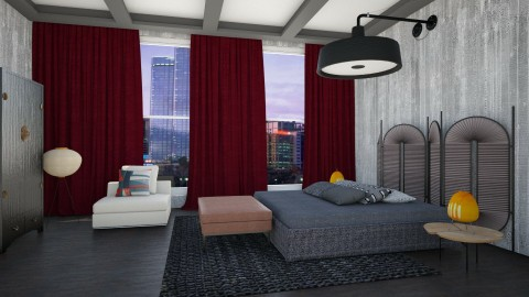 Lofty Eclectics - Eclectic - Bedroom  - by 3rdfloor