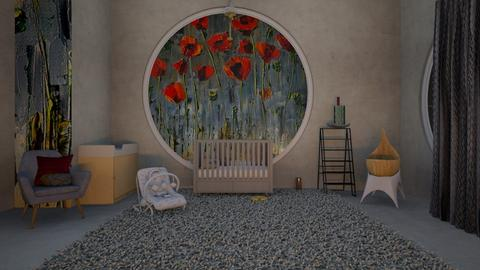 Poppy Bedroom - Modern - Kids room  - by Chayjerad