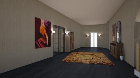 Fall hallway - by Just_a_interior_designer_23