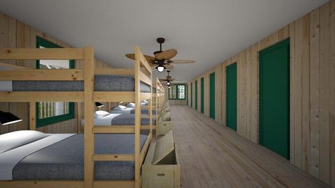 Camp Cabin - Bedroom  - by SammyJPili