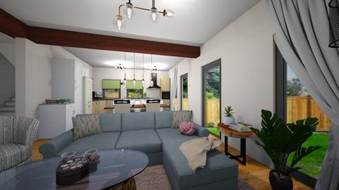 Lazarut Andreea - Rustic - Living room  - by Andreea Lazarut
